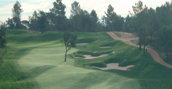 10th Hole, Tour Course at PGA Golf Catalunya