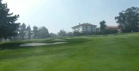 Real Golf de Pedrena 5th green after renovation
